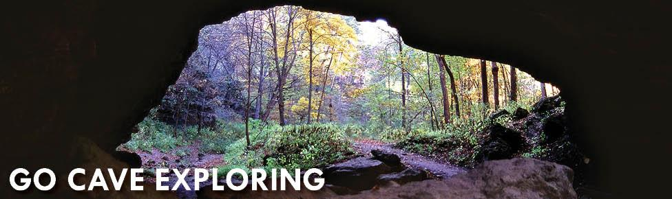 Go Cave Exploring in Iowa