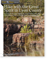 Hike with the Great Spirit in Lyon County