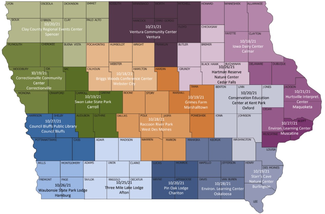 reap assembly map, see pdf on page for locations and information