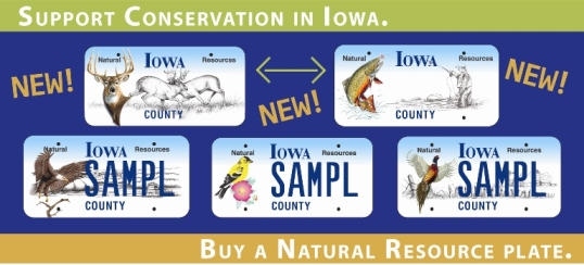 Natural Resource License Plates