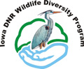 Iowa DNR Wildlife Diversity Program Logo