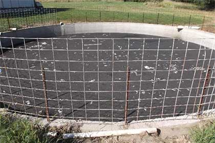 formed concrete