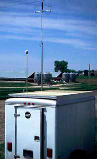 Picture of an ambient air monitor