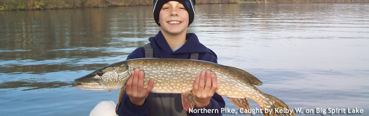 Pike caught by Kelbie