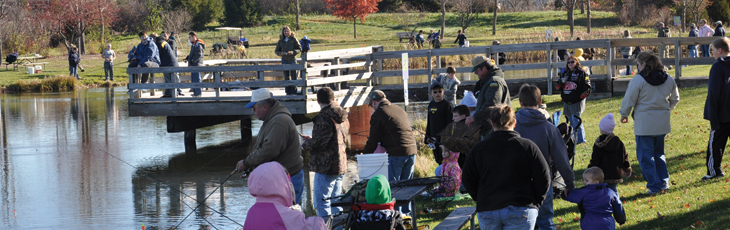 Trout Stocking Event