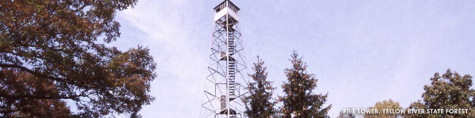 Fire Tower, Yellow River State Forest