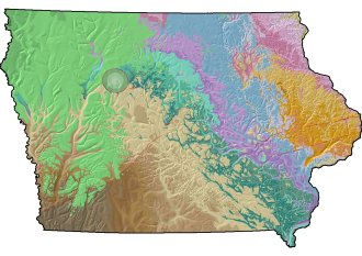 The Bedrock Geologic Map of Iowa