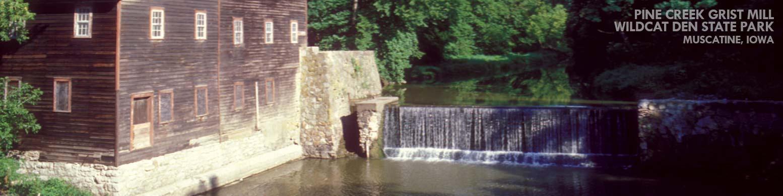 Grist Mill, Wildcat Den State Park