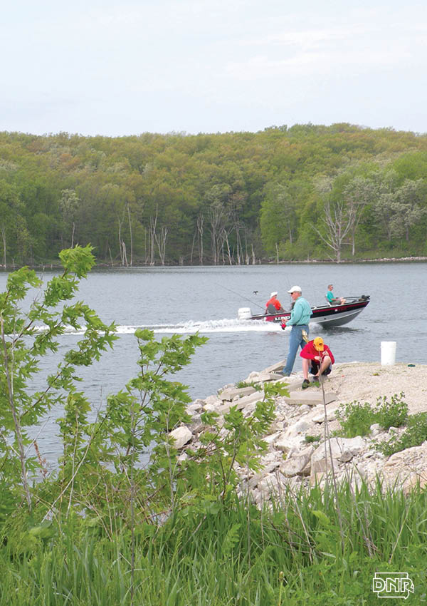 Twelve Mile Lake has bounced back to reclaim its reputation as a great fishing lake after watershed work and lake restoration | Iowa DNR