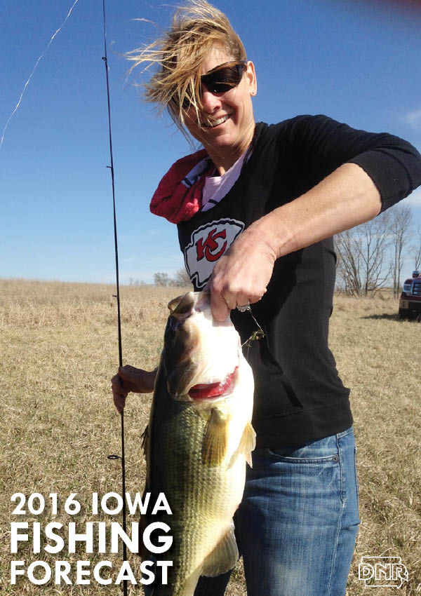 2016 Fishing Forecast for all 99 counties | Iowa Outdoors Magazine