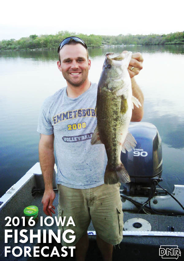 2016 Fishing Forecast for Viking Lake and all 99 counties | Iowa Outdoors Magazine