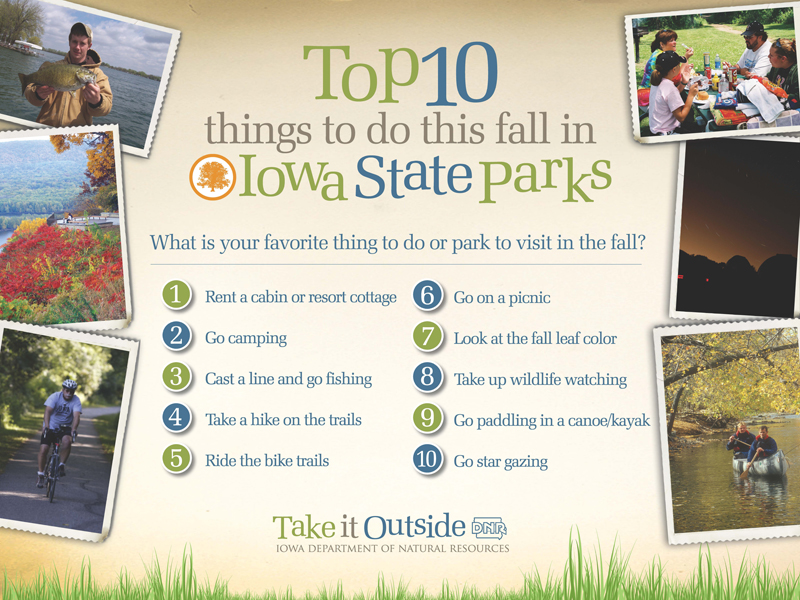 10 things to do this fall in Iowa State Parks | Iowa DNR
