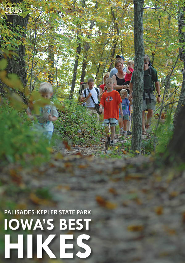 Iowa's Best Hikes: Palisades-Kepler State Park | Iowa DNR
