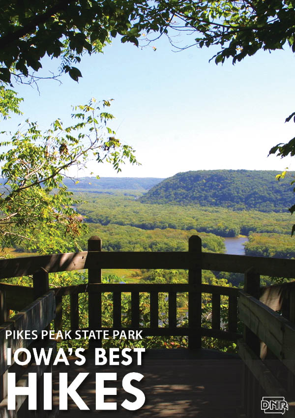 Iowa's Best Hikes: Pikes Peak State Park | Iowa DNR