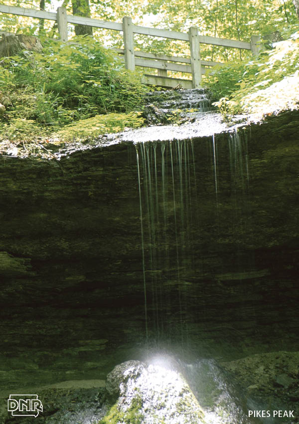 Bridal Veil Falls and 6 other must-see waterfalls in Iowa State Parks | Iowa DNR