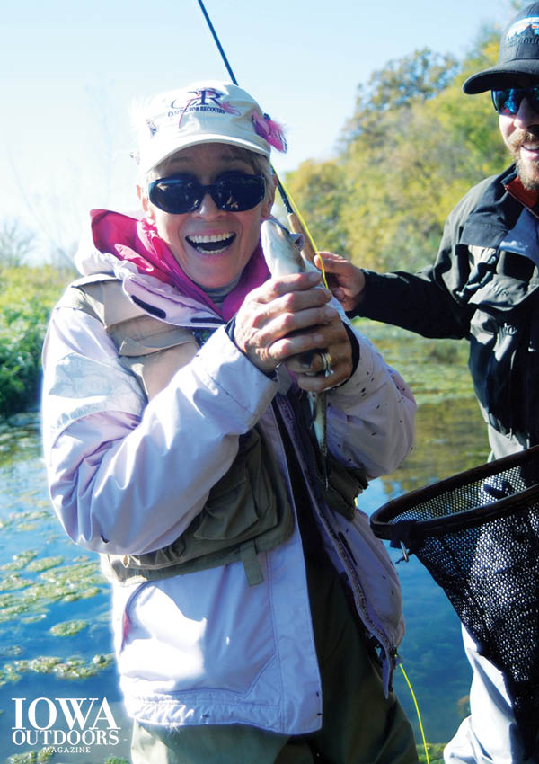 Casting for Recovery aims to help women recovering from breast cancer through trout fishing: Sylvia