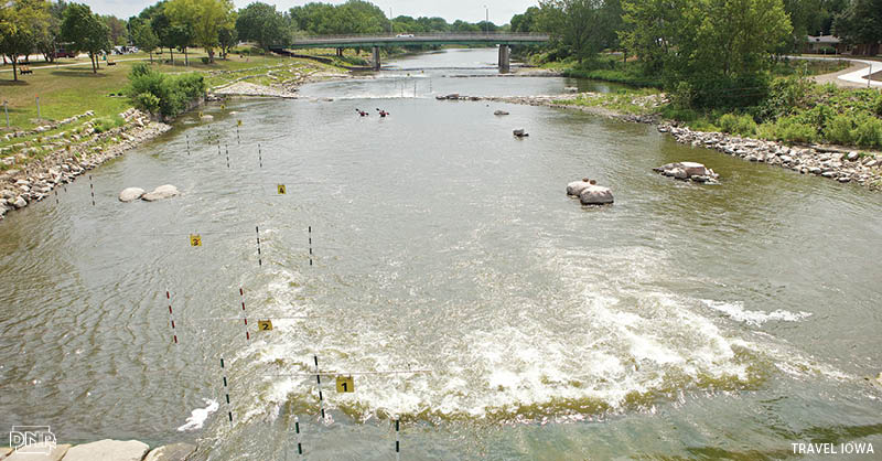 A whitewater park, stormwater improvements and more make the Cedar River the heart of the Charles City community | Iowa DNR