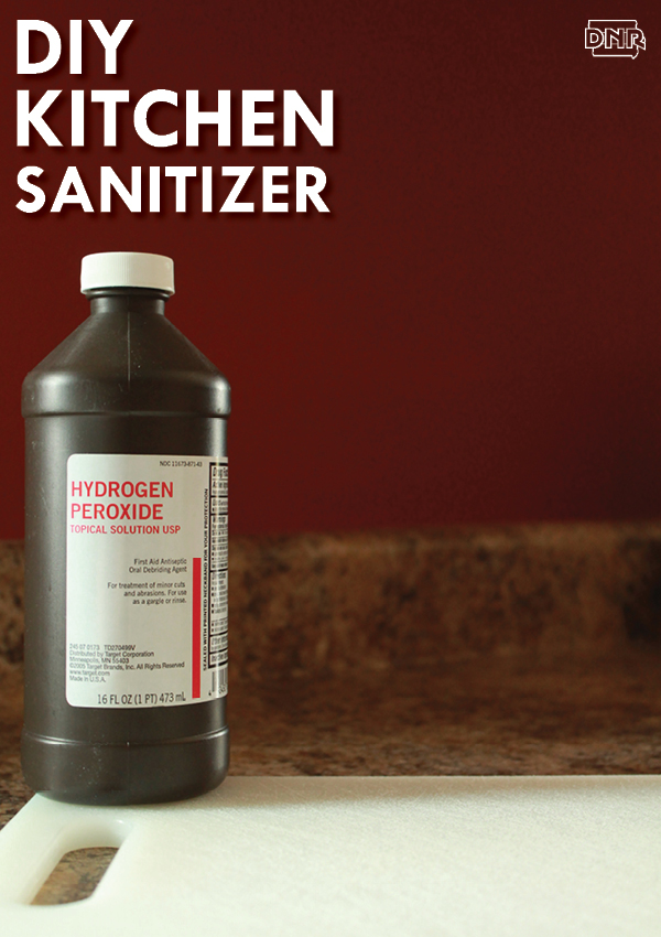 DIY kitchen sanitizer | Iowa DNR