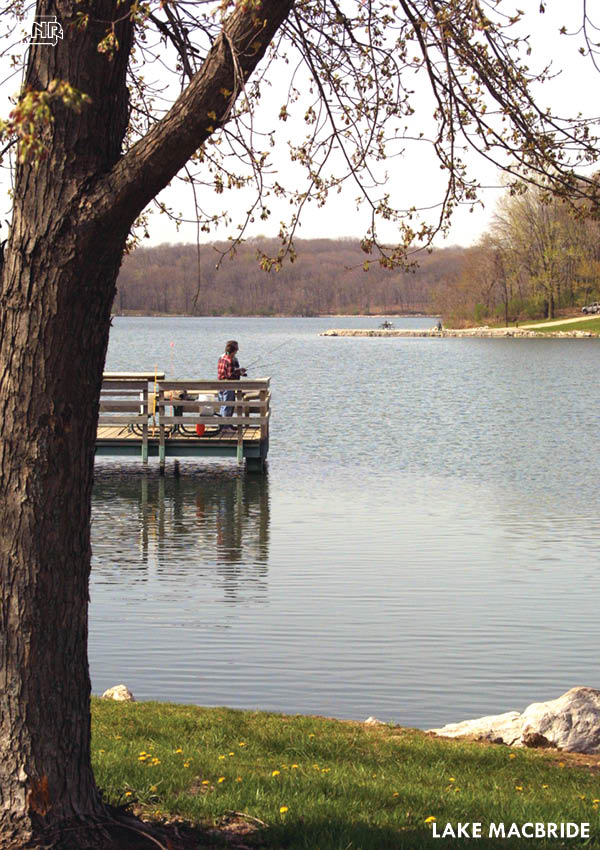 Lake Macbride is one of the 6 Iowa State Parks for awesome spring fishing! | Iowa DNR