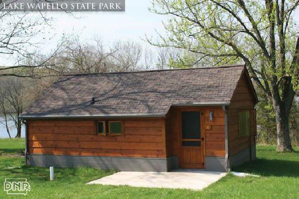 Book a cabin at Lake Wapello State Park | Iowa DNR