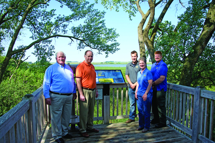 Local partnerships helped restore Little Storm Lake | Iowa DNR