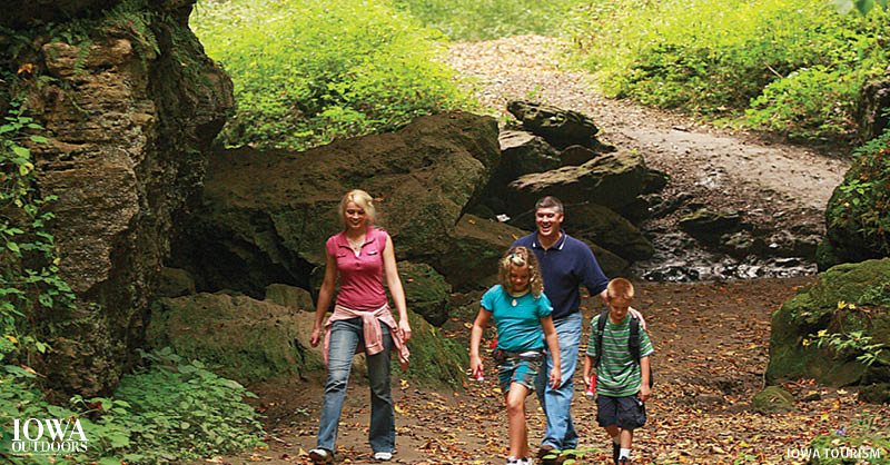 Exploring Maquoketa Caves State Park and more along Iowa's Grant Wood Scenic Byway | Iowa Outdoors Magazine