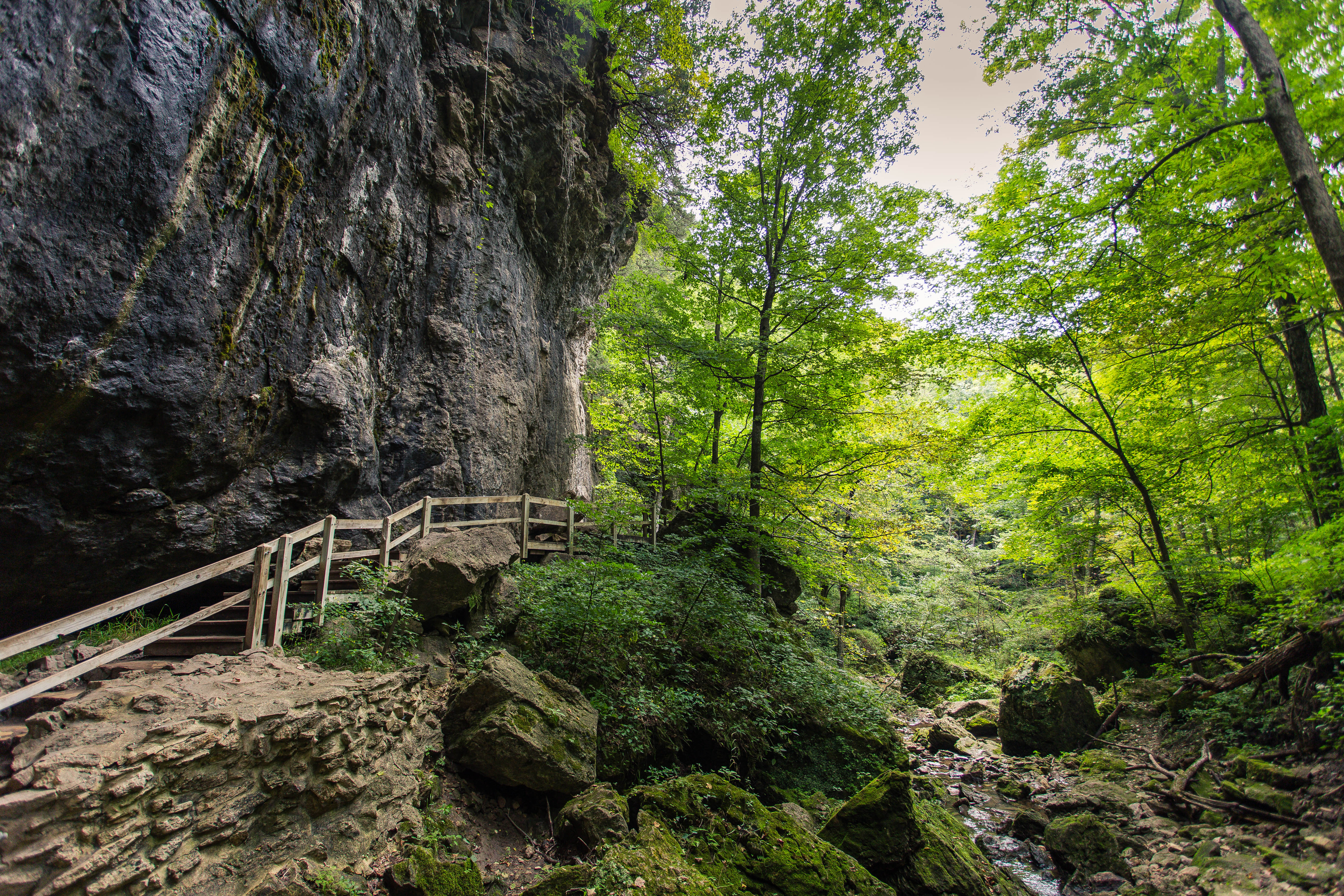 Maquoketa Caves is one of Iowa's most Instagrammed state parks. Photo by Bernice Ticknor | Iowa DNR
