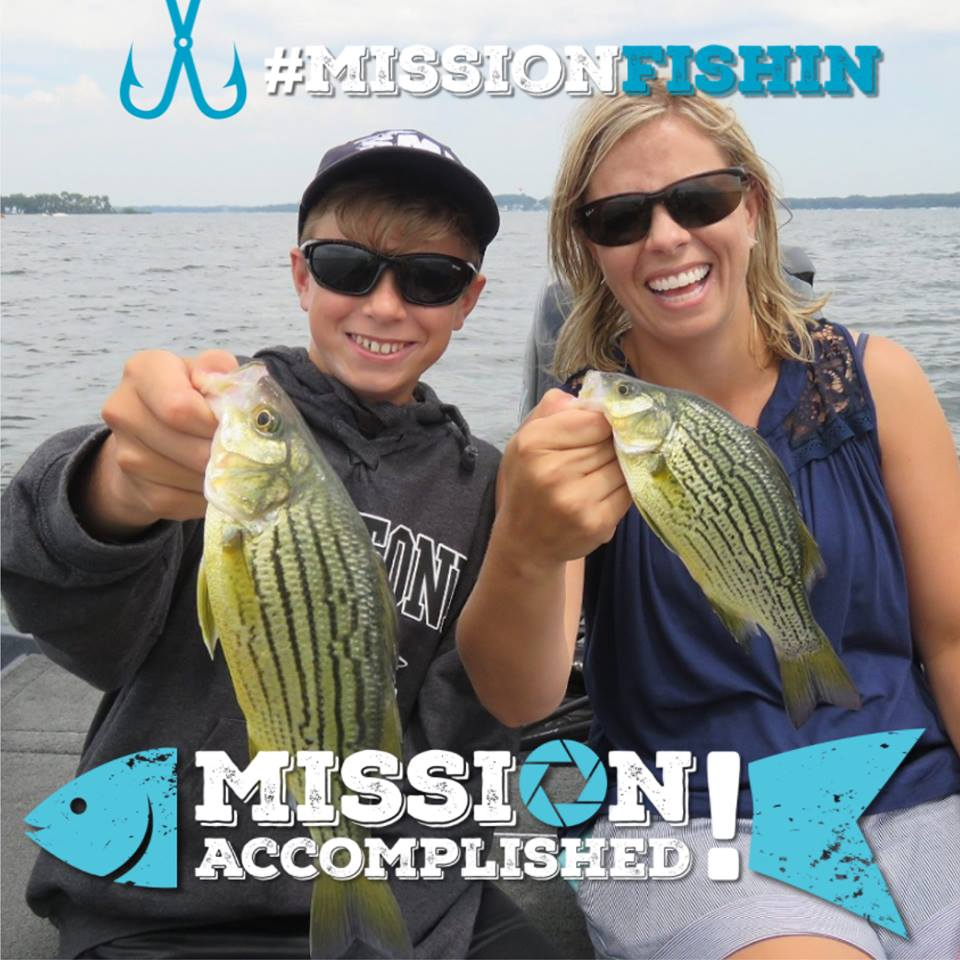 Take someone fishing in the #MissionFishin challenge! | Iowa DNR