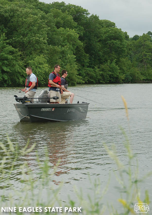 Improved fishing thanks to water quality improvement efforts at Nine Eagles State Park and Slip Bluff County Park in Decatur County have held up over time | Iowa DNR