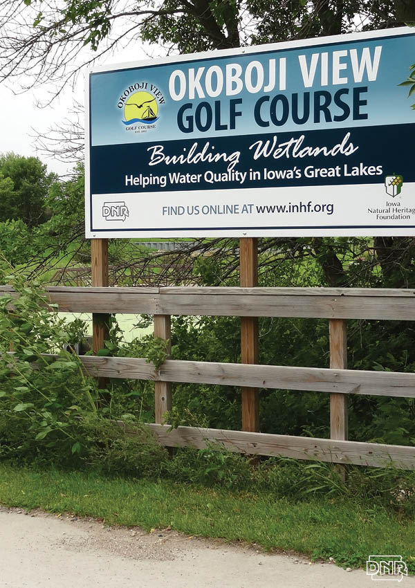 Wetlands at Okoboji View Golf Course help protect Iowa's Great Lakes | Iowa DNR