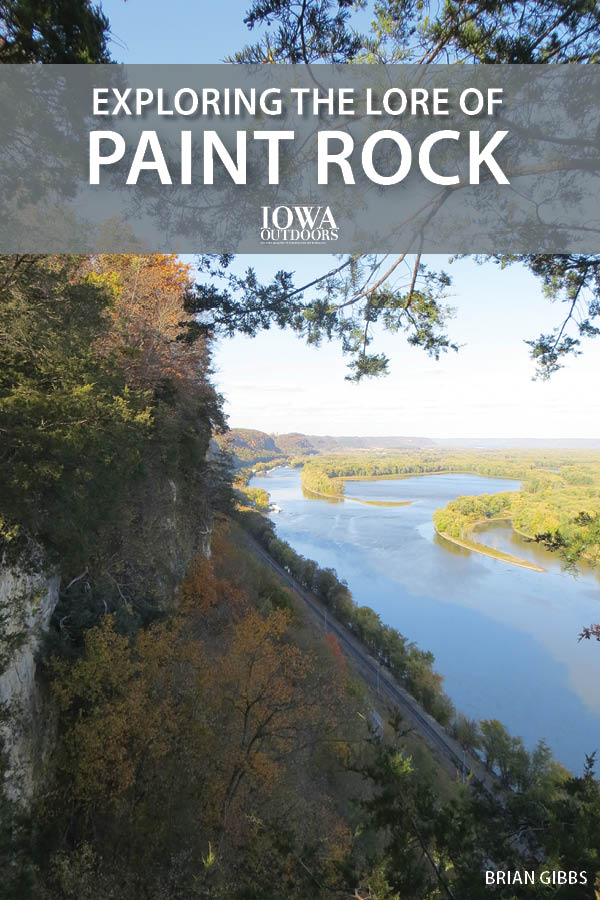 Take a weekend escape along the bluff tops of the Upper Mississippi River, load the car with backpacking essentials and hike to camp at one of Iowa's most revered places: Paint Rock. | Iowa DNR