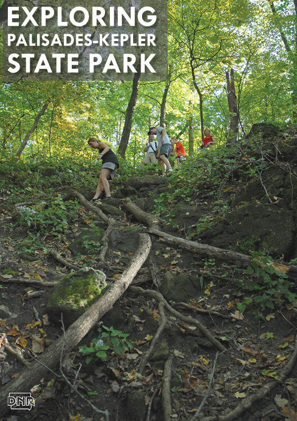Explore eastern Iowa's Palisades-Kepler State Park: rock climbing, hiking, observatory, paddling and more | Iowa DNR