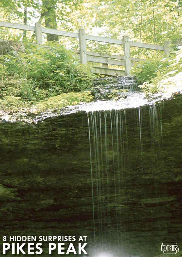 Bridal Veil Falls is 1 of 8 hidden surprises at Pikes Peak State Park | Iowa DNR