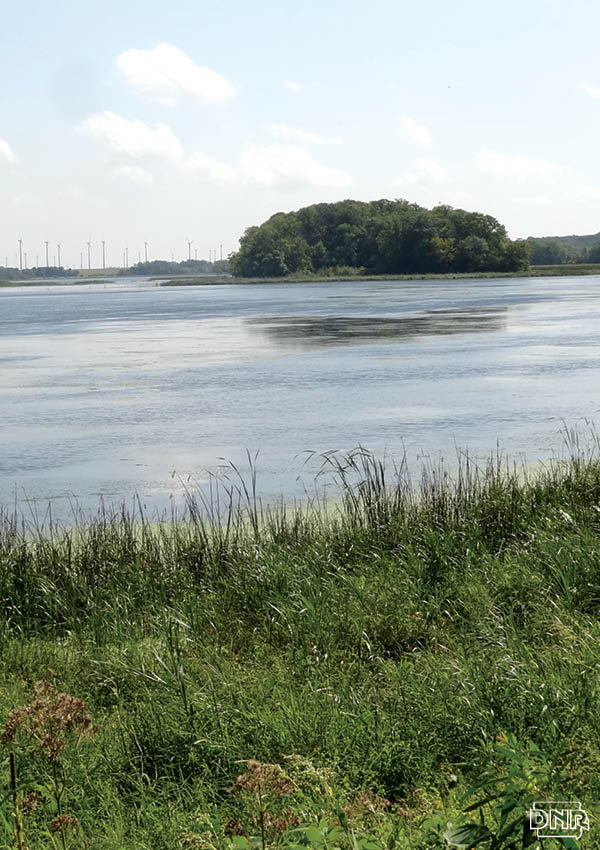 Restoration efforts have improved northern Iowa's Rice Lake.