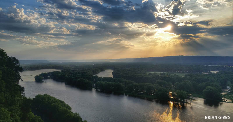 Take a weekend escape along the bluff tops of the Upper Mississippi River, load the car with backpacking essentials and hike to camp at one of Iowa's most revered places: Paint Rock.  | Iowa Outdoors magazine