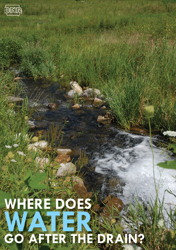 Where does water go after it goes down the drain? | Iowa DNR