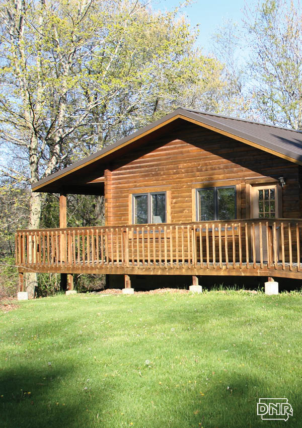 Cabin at Backbone State Park | Iowa DNR