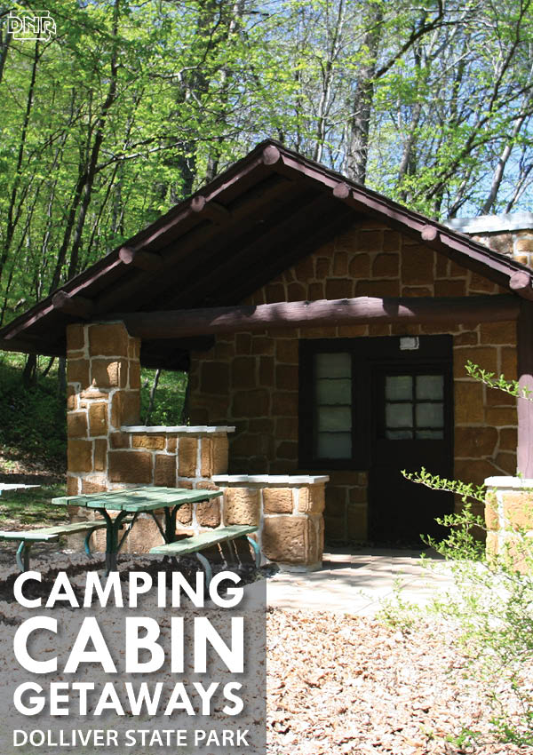 Take a quick weekend getaway with a camping cabin at Dolliver Memorial State Park | Iowa DNR
