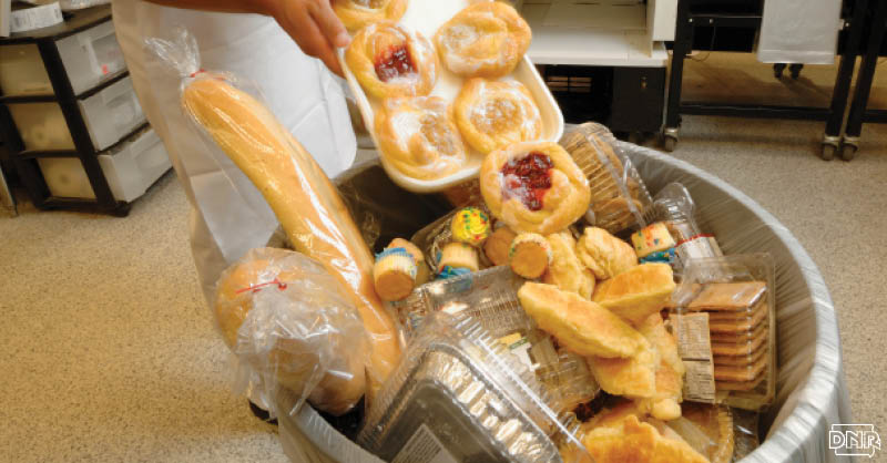 Iowans send more than 190,000 tons of unopened, untouched food to the landfill. That's enough to fill a line of dump trucks from Waterloo to Cedar Rapids. Here's 9 ways to reduce food waste | Iowa DNR