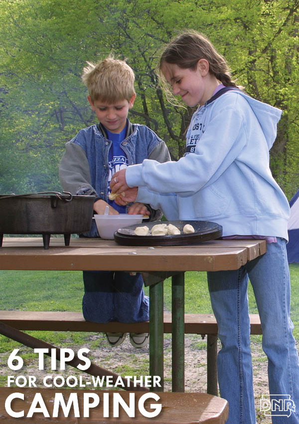 6 tips for keeping cozy when camping in cool weather | Iowa DNR