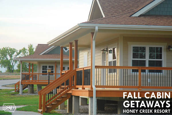 Cottages at Honey Creek State Park Resort are awesome fall escapes | Iowa DNR