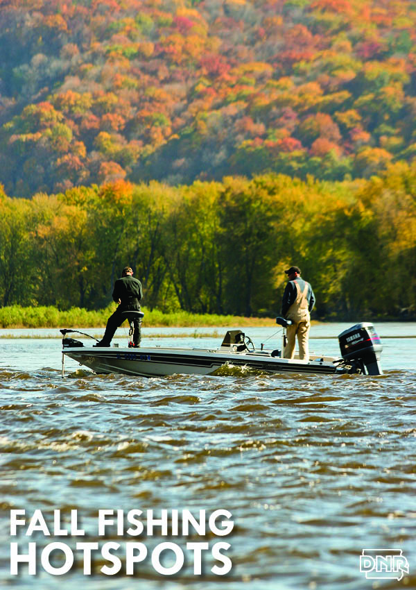 Get the fall fishing forecast for 2017 from the Iowa DNR
