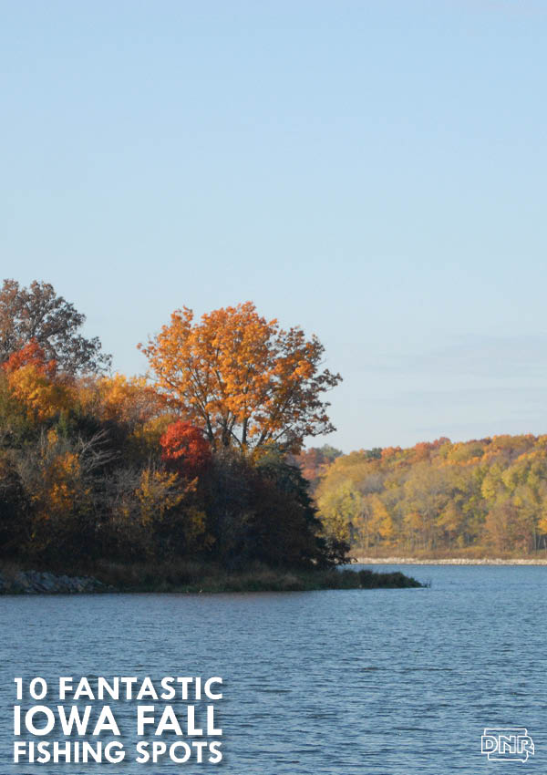 Little River Watershed Lake is one of our 10 Fantastic Fall Fishing Spots | Iowa DNR