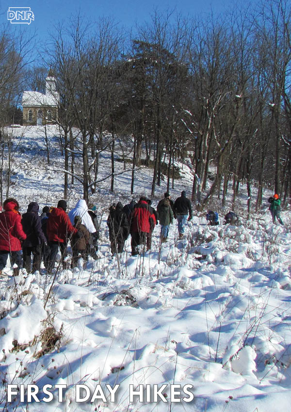 Join a First Day Hike in one of 19 Iowa State Parks or try one of 5 other activities to start off the new year outdoors | Iowa DNR