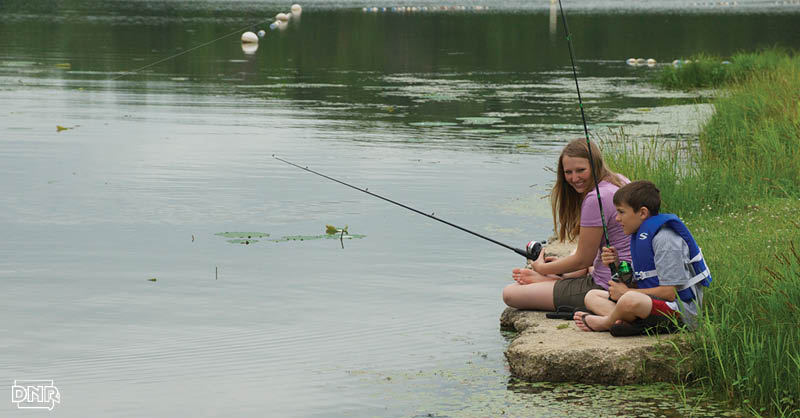 Take Mom fishing for Mother's Day! | Iowa DNR