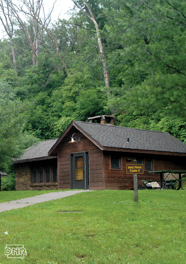 Make an Iowa State Park cabin, like this one at Pine Lake, your hunting basecamp | Iowa DNR