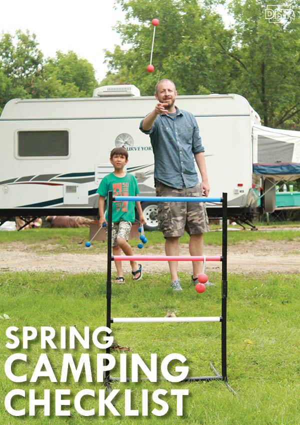 Spring camping checklist - get packed and ready to go! | Iowa DNR