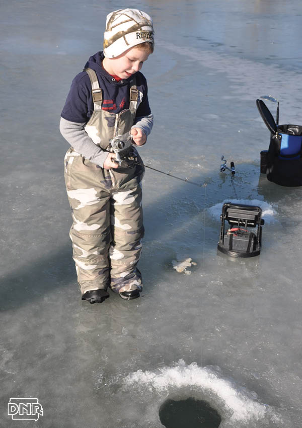 How to catch more urban trout through the ice | Iowa Outdoors magazine