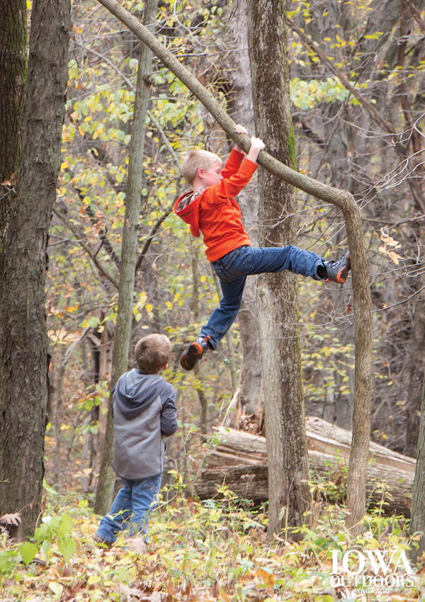 Officer Erika Billerbeck: Why getting kids out in nature is so important | Iowa Outdoors magazine