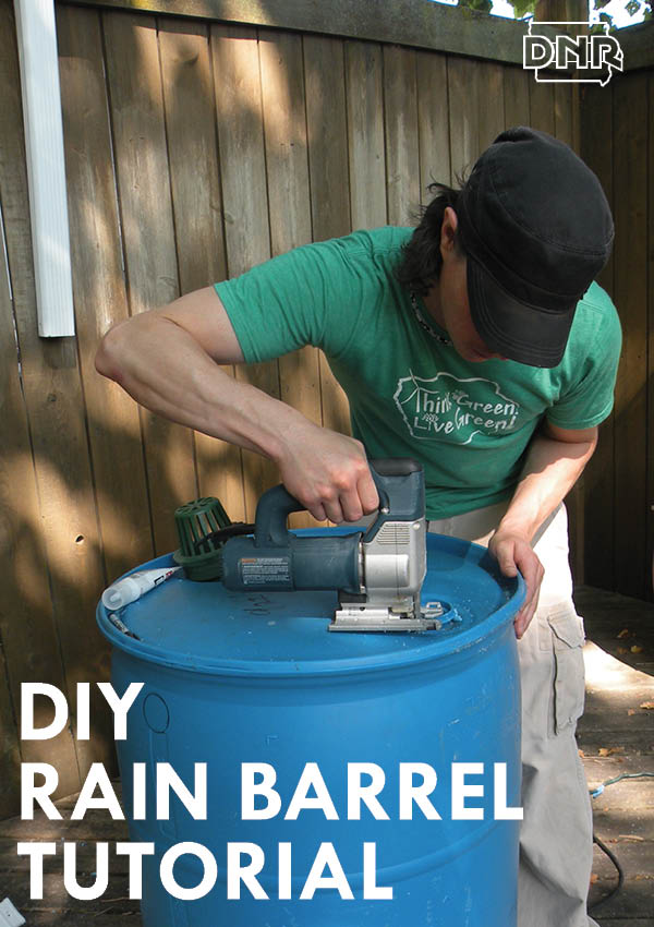 Build your own DIY rain barrel with this tutorial | Iowa DNR